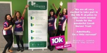 Finegreen Ladies skydiving for charity this weekend!