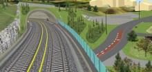 Arbeidet på Østensjøbanen nærmer seg