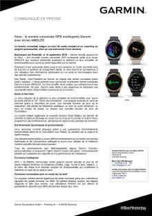 Venu : la montre connectée GPS multisports Garmin avec écran AMOLED