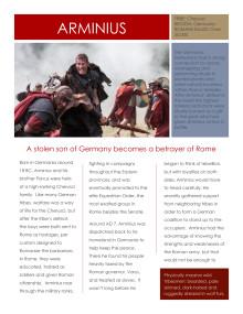 Barbarians Rising: Arminius (Tom Hopper)