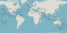 Fred. Olsen Cruise Lines unveils brand new World Cruise on new ship Borealis in 2022, with departure from Liverpool or Southampton