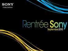 Rentrée Sony / Septembre 2010