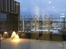 En lunga reser sig högt i Piteås stadsbild