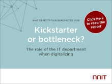 Kickstarter or bottleneck? The role of the IT department when digitalizing