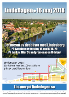 LindeDagen 2018: Affisch