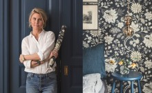 Lifestyle blogger Krickelin shows how easy it is to hang wallpaper with Boråstapeter