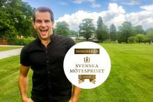 Rättvisa, rättigheter och smittande skratt ger Happy Tammsvik dubbla vinstchanser i Svenska Mötespriset