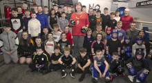 Ballymena boxers leading the fight for better mental health
