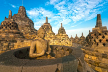 Indonesia: The Borobudur Temple