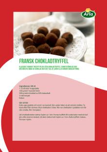 Fransk chokladtryffel