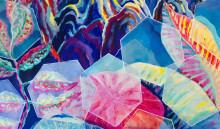 Färgstark konstutställning med Ninni Ahlsell - Colour Me Up på Ulfsunda Slott