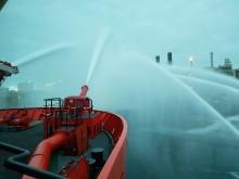 'Esvagt Aurora' slukkede brand i gasanlæg