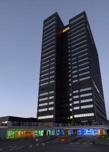Markant kunstnerisk udsmykning i Aarhus City Tower