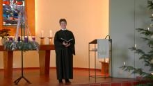 Hephata-Kirchengemeinde: Neujahrsandacht mit Pfarrerin Annette Hestermann als Video