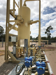 Rotork process control actuators added to Australian LNG project