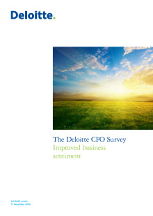 CFO-undersökning 2009