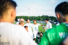 Christoph Metzelder fordert die Viva con Agua Allstars am 17. Juni an der Stauseekampfbahn in Haltern heraus