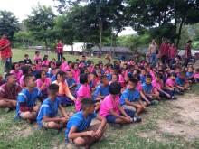 Om Koi District, Chiang Mai, Thailand, Receives 100 Panasonic Solar Lanterns