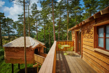 New Treehouses complete at Center Parcs Woburn Forest