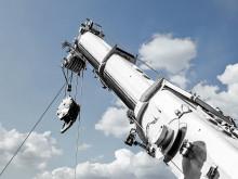 Overlegen smøring af mobile teleskopkraner