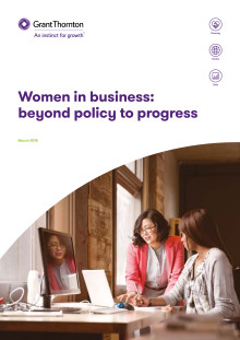 Women in business: beyond policy to progress