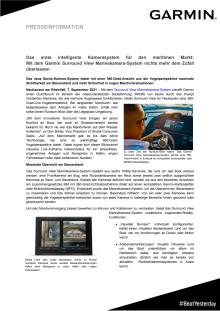 PRESS RELEASE Garmin Surround View