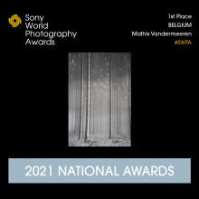 Mathis Vandermeeren remporte les Belgium National Awards 2021