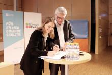 Sveriges Elevkårer tar ansvar för att stärka demokratin
