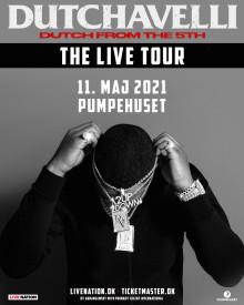 Den 11. maj 2021 brager Dutchavelli ind i Pumpehuset med lyrisk overlegen drill-rap.