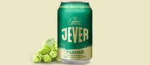 Jever Pilsener – klassisk tysk pilsner med humlekaraktär lanseras på burk på Systembolaget
