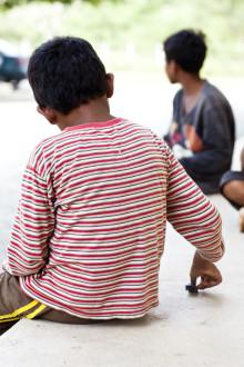 Barnhem förstärker barns utsatthet