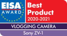 Společnost Sony slaví úspěchy na EISA 2020 včetně prvního vítězství v kategorii vlogovací fotoaparát roku