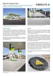 Pre-Fitted Fibrelite Remote Fill Sumps & KPS Piping Simplify Installation for Major Oil Company in Spain