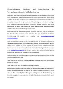 KlimaschutzAgentur Reutlingen und Energieberatung der Verbraucherzentrale weiten Telefonberatung aus