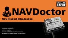 Digital Yacht praesentiert NAVDoctor für NMEA 2000 Netzwerk-Diagnose und -Tests