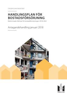 Handlingsplan för bostadsförsörjning 2018–2022