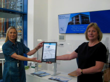 Fred. Olsen companies become first in Ipswich to receive Modeshift STARS award for sustainable travel efforts