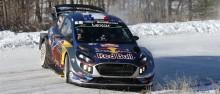 Sebastien Ogier och Ford Fiesta WRC är redo för Rally Sweden