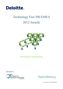 Deloitte Technology Fast 500 EMEA 2012 Awards