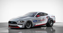 Ford lanserer elektriske Mustang Cobra Jet med 1400 HK