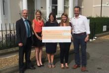 CooperBurnett raises £15,000 for ellenor