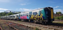 London Northwestern Railway issues vandalism warning after graffiti takes trains out of action