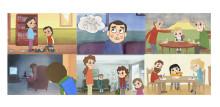 Nka publicerar tecknade filmer om barn som anhöriga i familjer med psykisk ohälsa som kan användas i samtal med barn