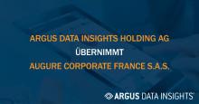 ARGUS DATA INSIGHTS Holding AG übernimmt Augure Corporate France S.A.S. und erweitert damit ihr Angebot für Medienbeobachtung und -analyse um PR- und Kommunikations-Workflow Software
