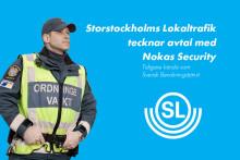 SL anlitar Nokas för ordningshållning i kollektivtrafiken