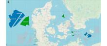 Energistyrelsen offentliggør finscreening af arealer til mulige havvindmølleparker