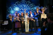 Vinnarna av Stora Journalistpriset 2014