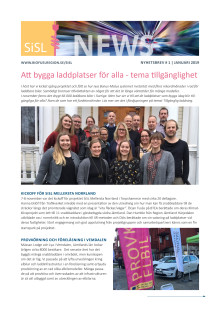 Stolpe in för Stad och Land Mellersta Norrland, nyhetsbrev 1, januari 2019