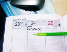 Sparsamt med långledigt hos småföretagarna till jul
