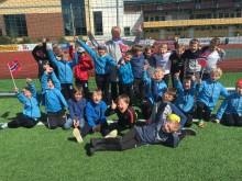 Fotball, mat og lekser